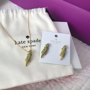 Kate Spade Necklace & Earring Set